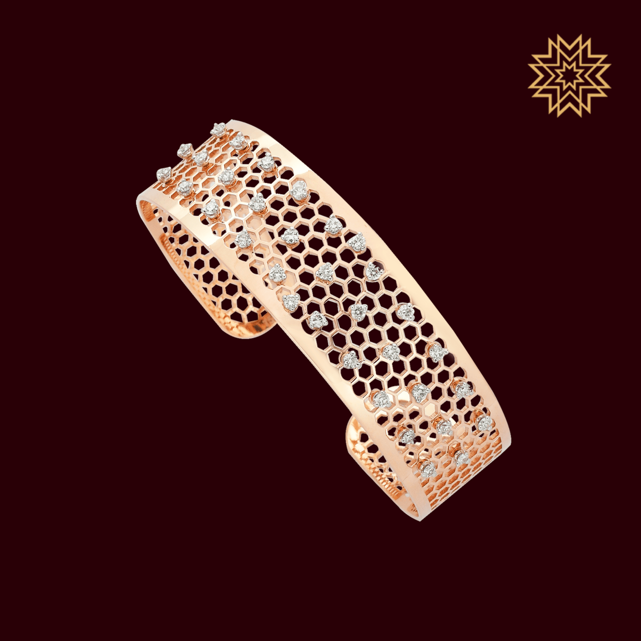 A vision of ecstasy with diamonds of pure authenticity.