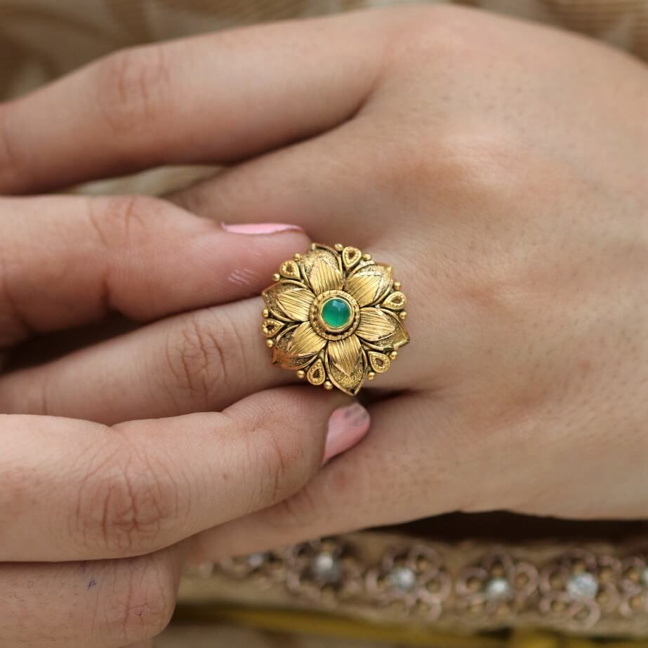 Manubhai Antique Ring