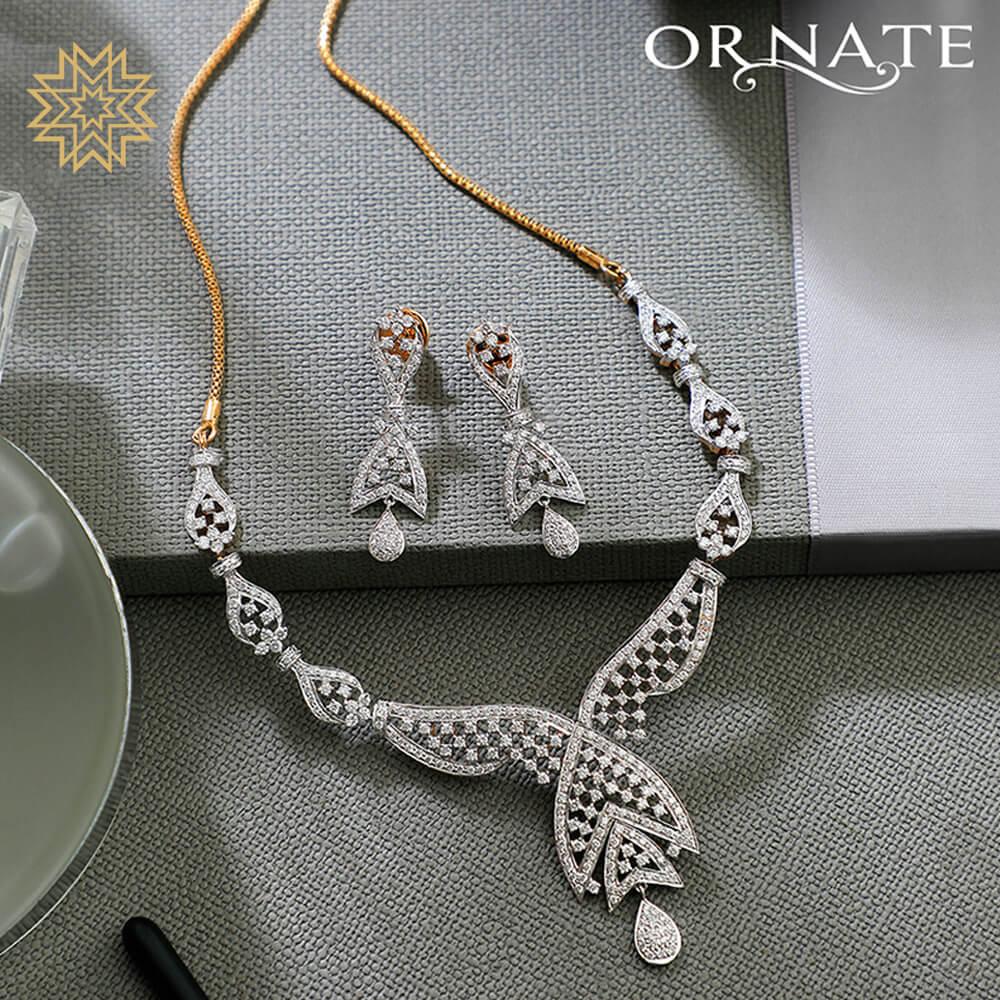 Manubhai Real Diamond Set