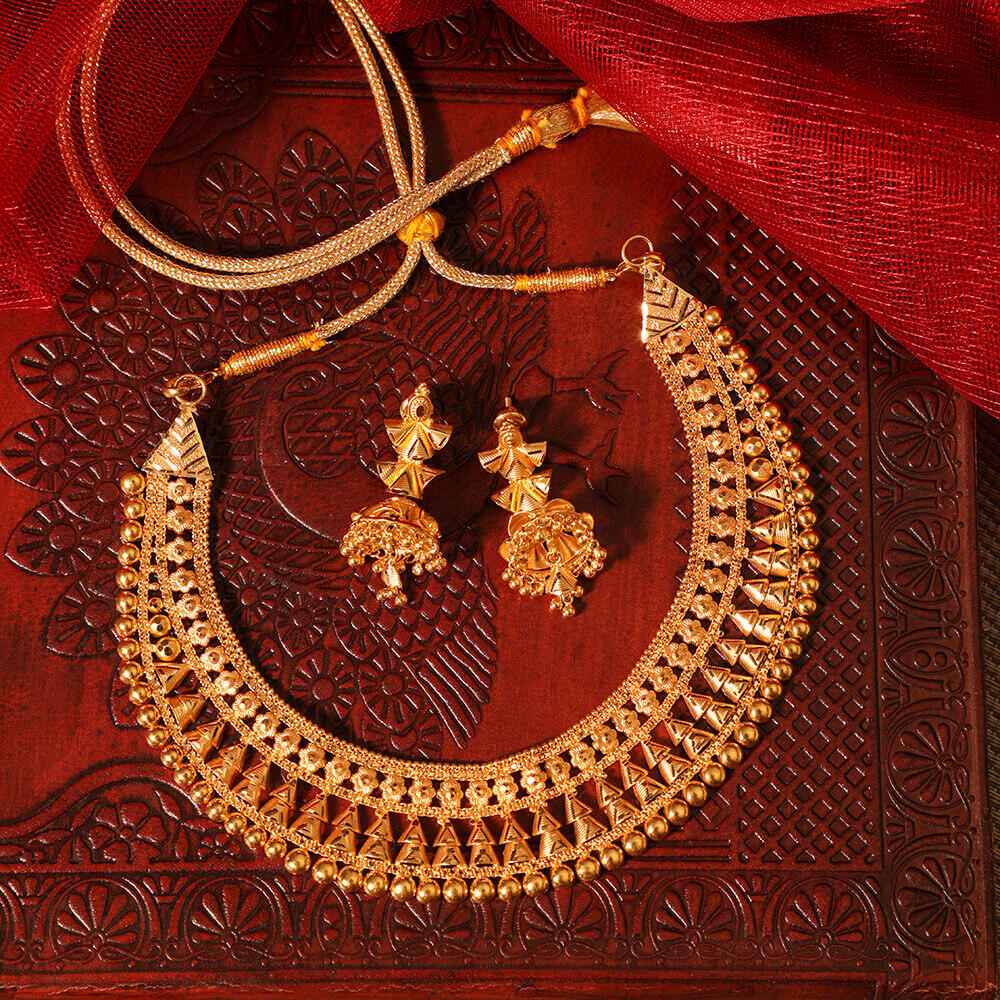 Manubhai Gold Set