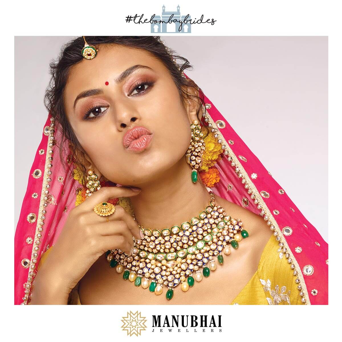 From her jhumkas to her thumkas, from her bangles to her payals, our Bombay Bride rocks all things traditional in her style exceptional.