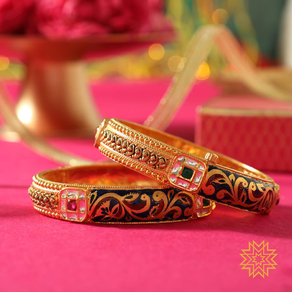 Manubhai Gold Bangle