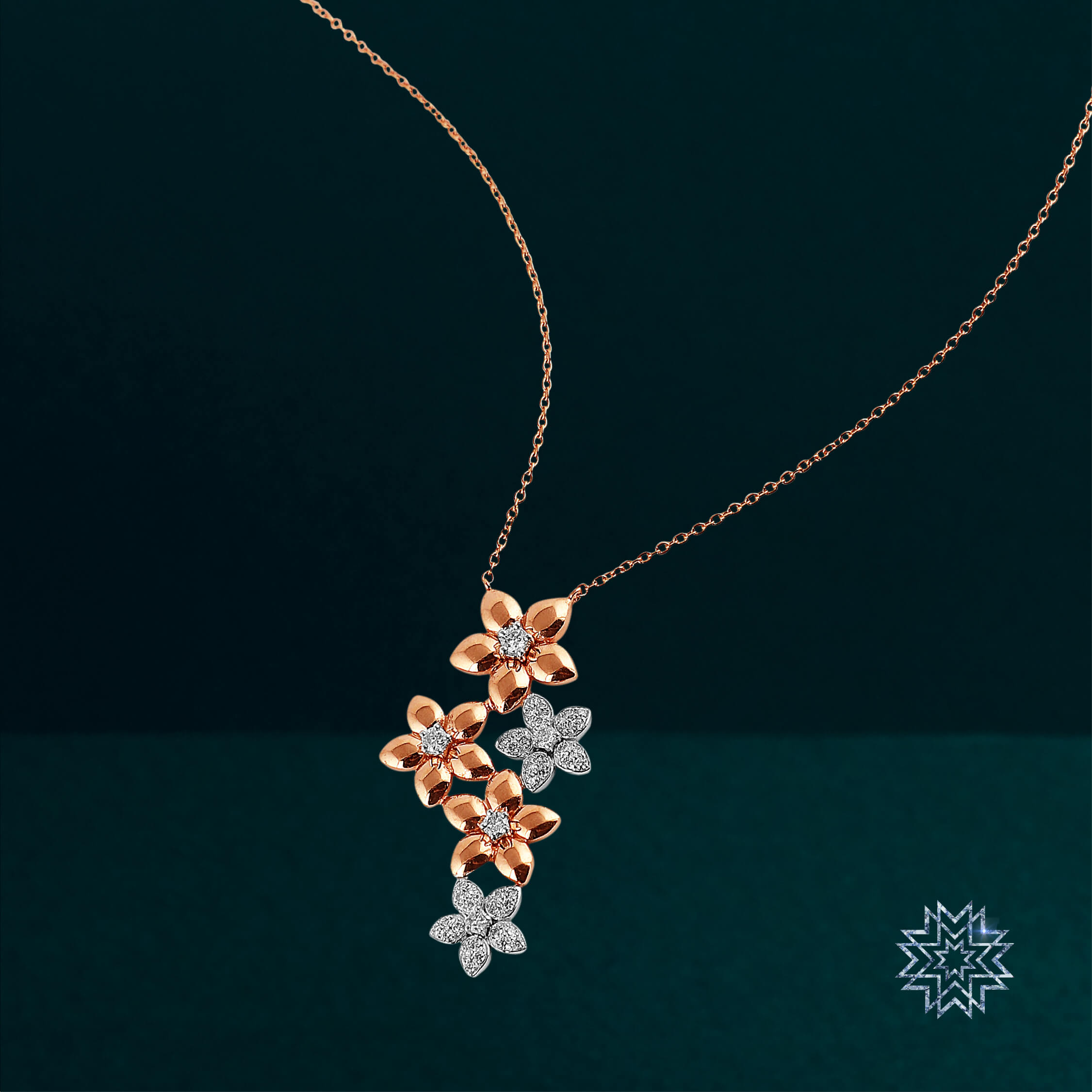 Brighten up your soul with this starlit necklace.