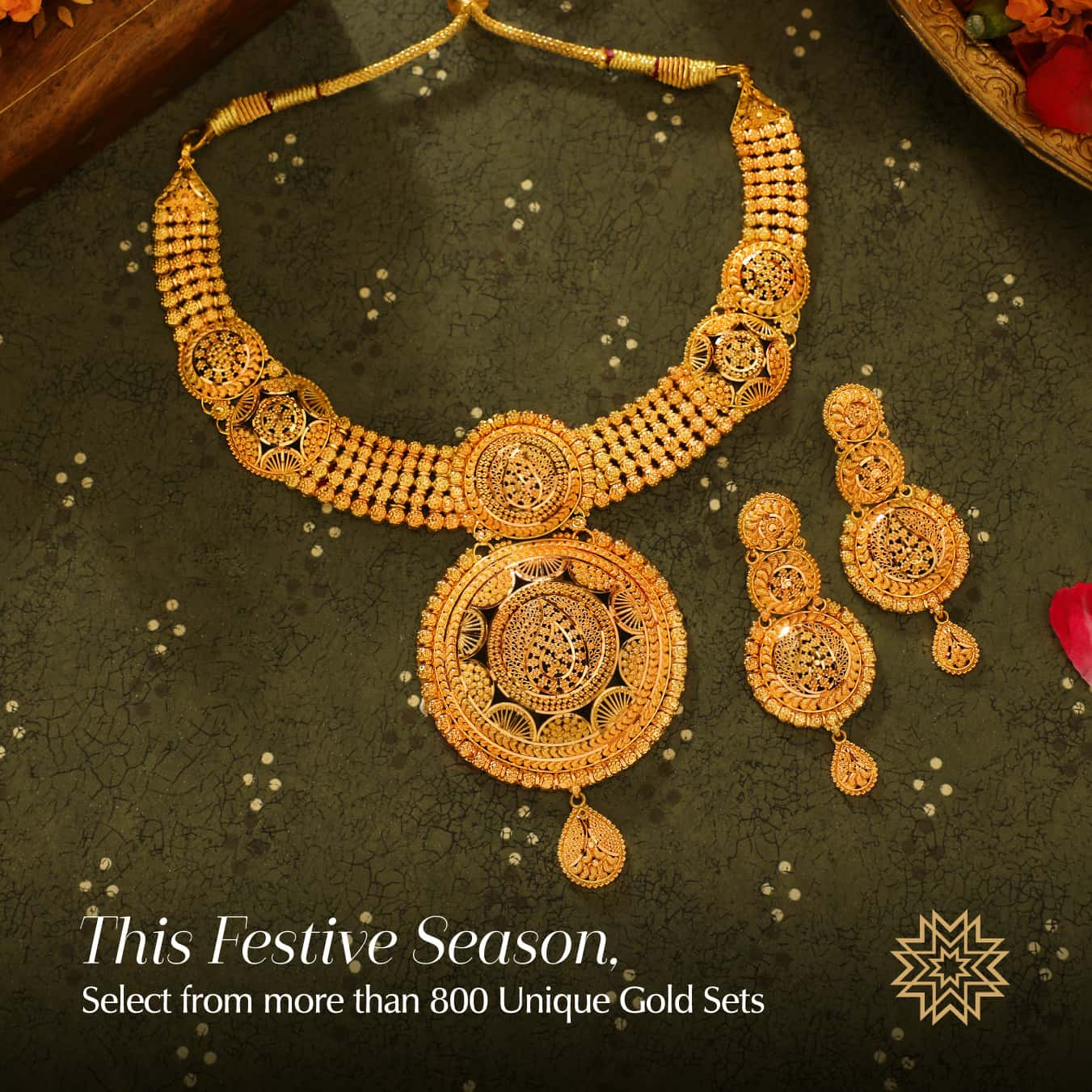 Her first Diwali with the family, they wanted to make it special. A gift of little florets set in gold gave her a smile that spoke her feelings untold. She felt truly like their daughter they loved, not their daughter in law whom they accepted.