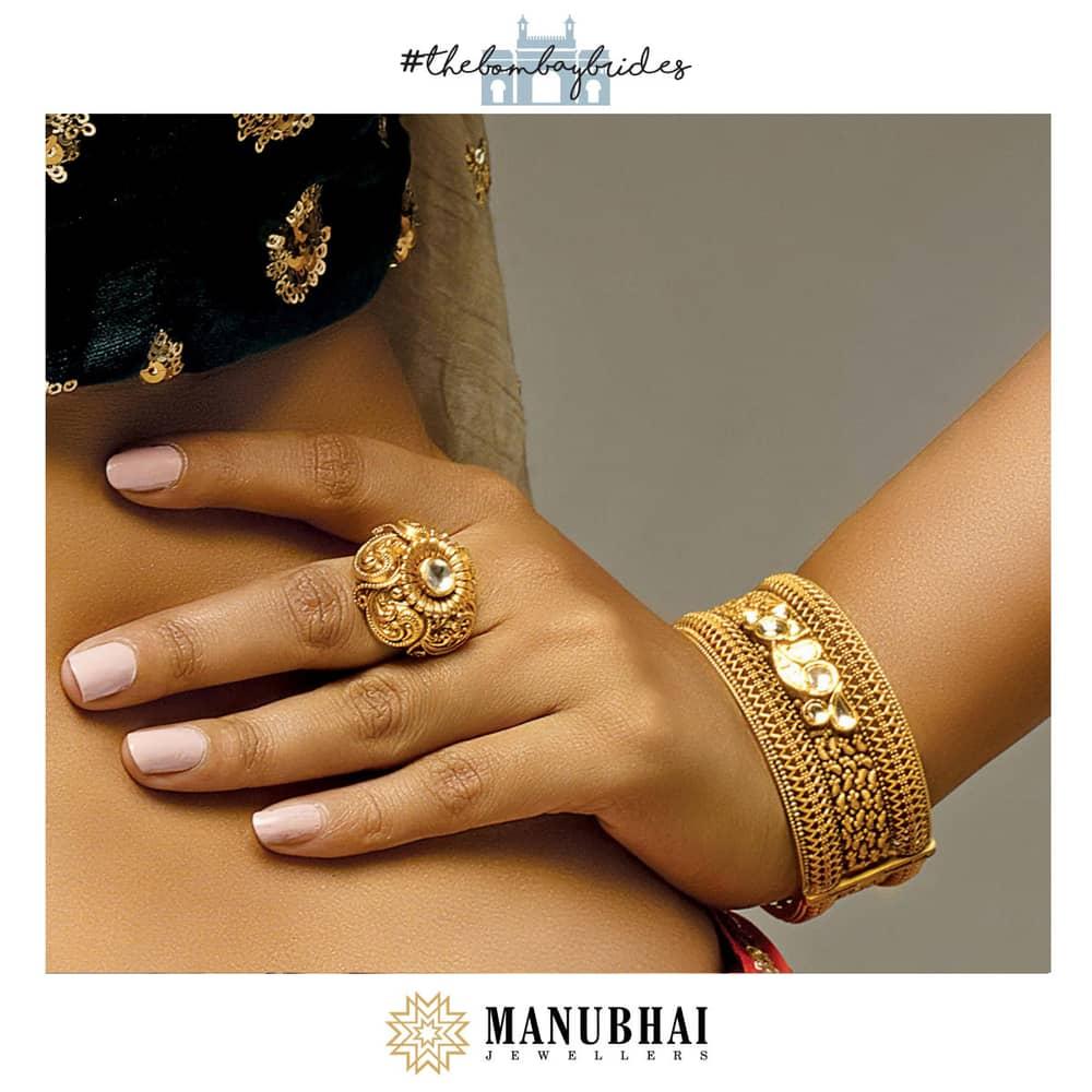 Manubhai Antique Ring