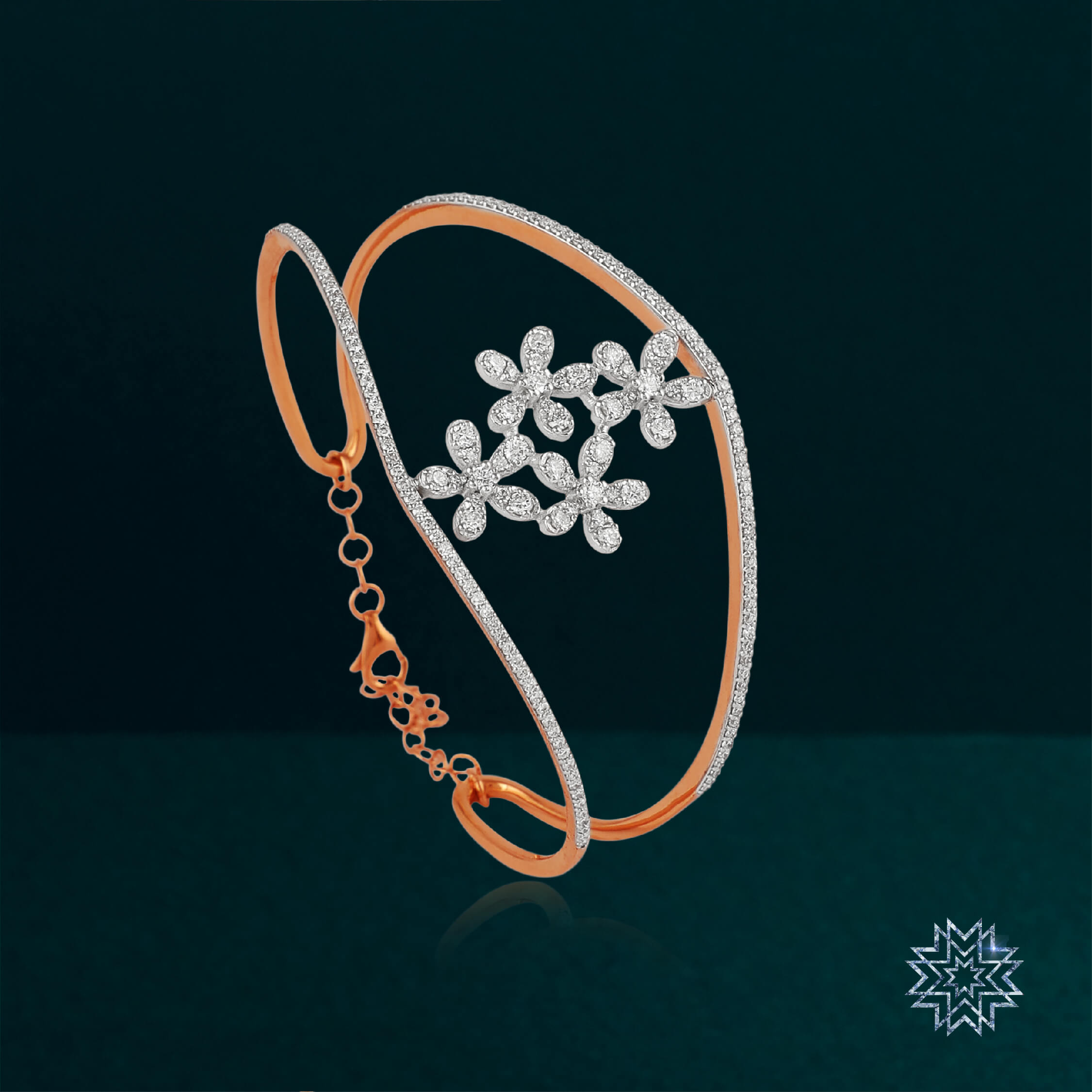 A bracelet that defines the diva within you- Hard to find, hard to please.