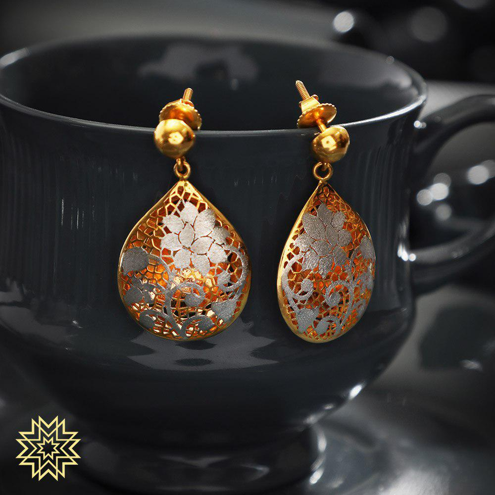 Manubhai Gold Earrings