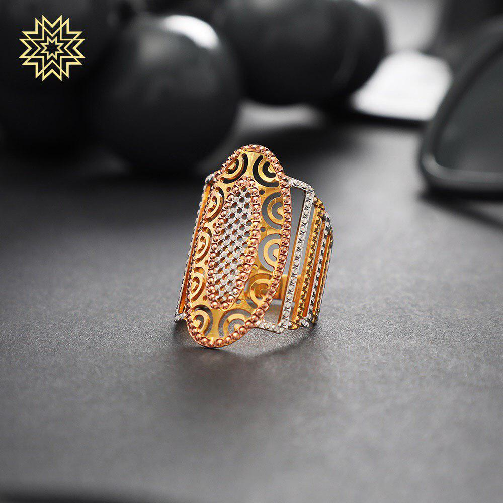 Add a touch of classy bling with a statement ring to complete your weekend party look.