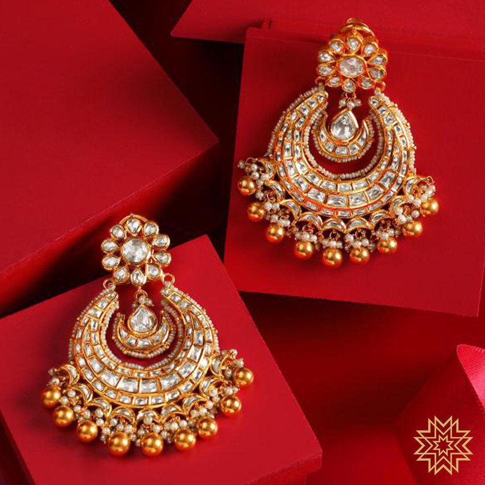 Manubhai Antique Earrings