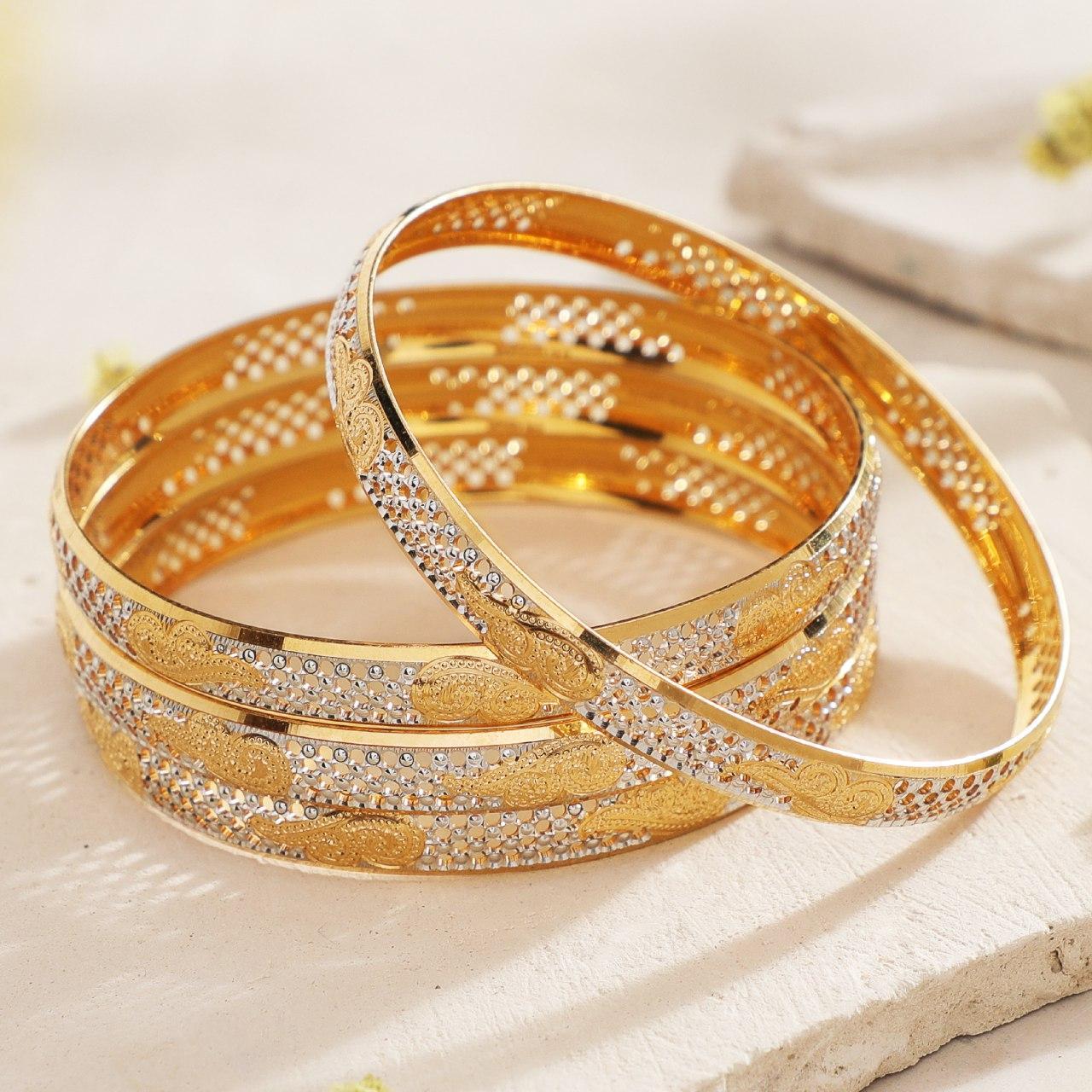 Manubhai Gold Bangles