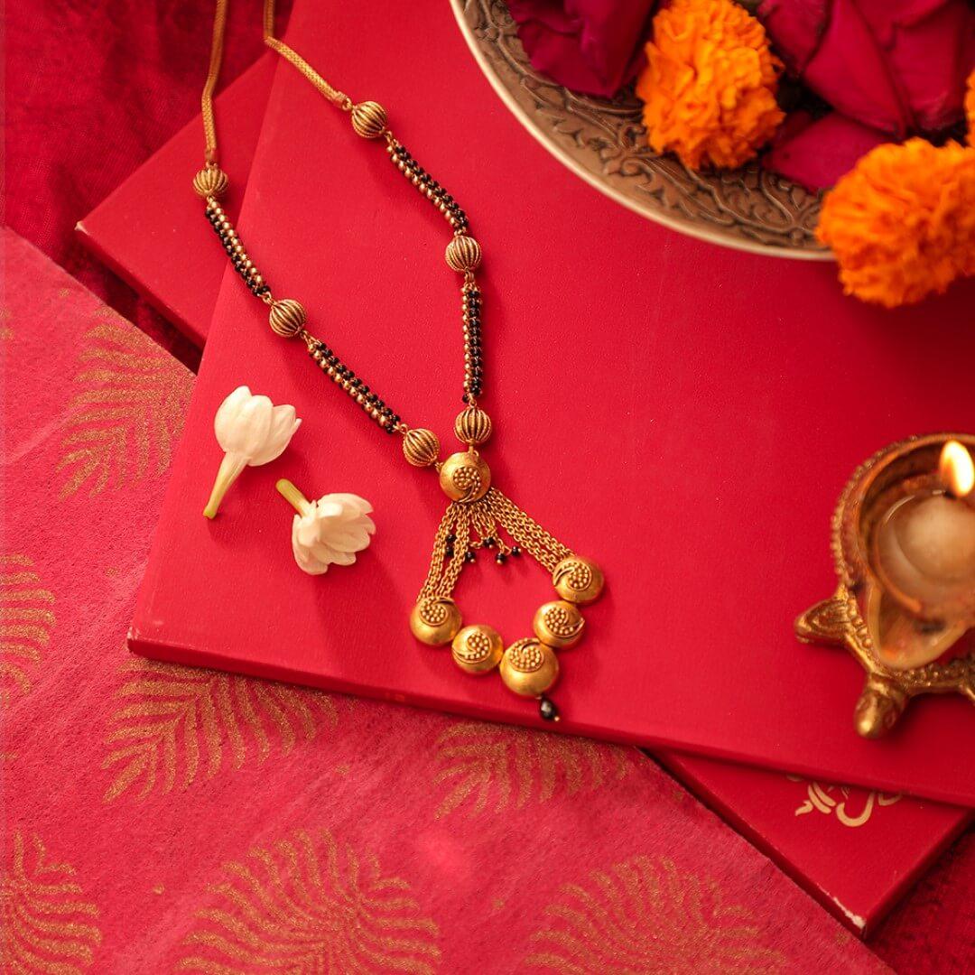 Manubhai Gold Mangalsutra