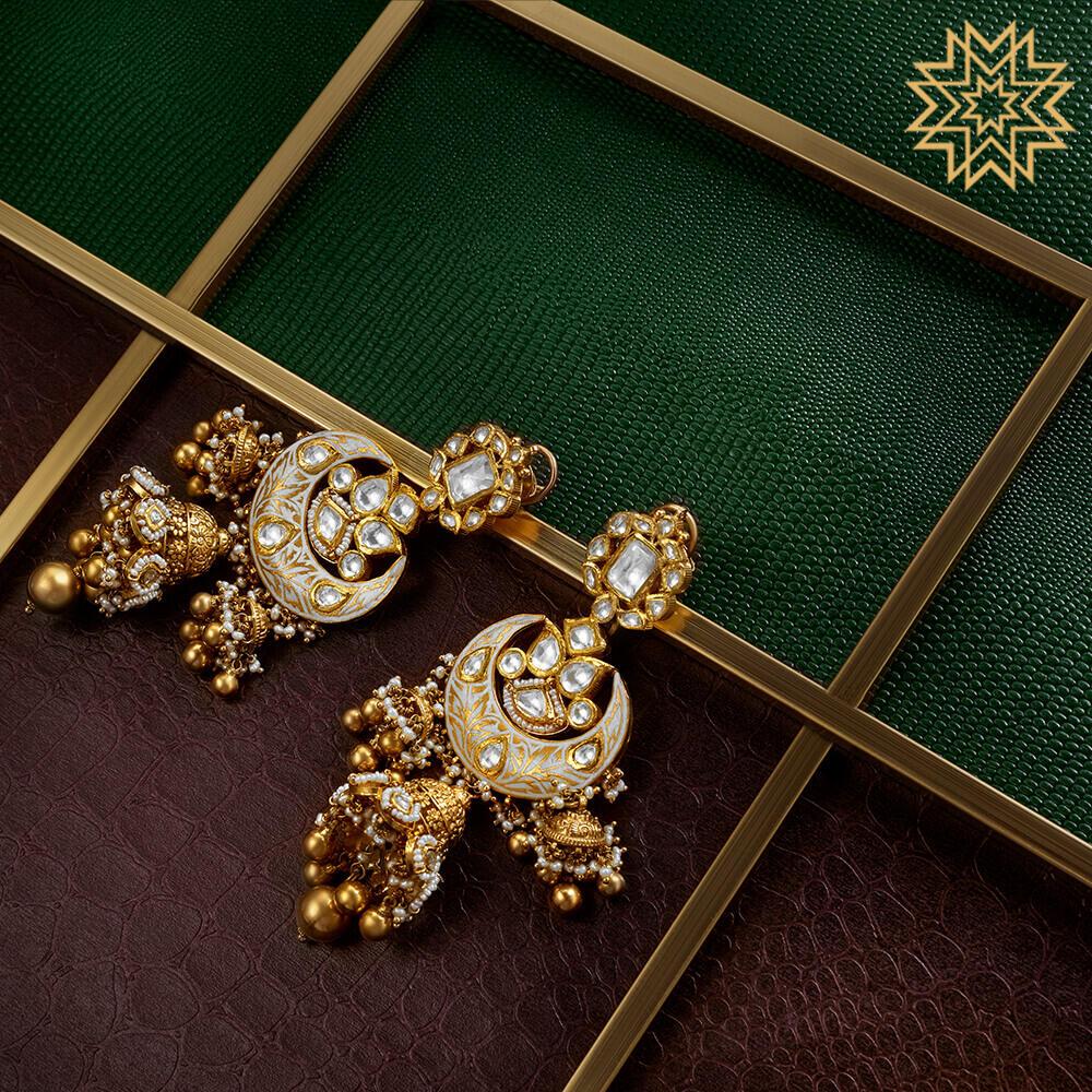 Manubhai Antique Earrings