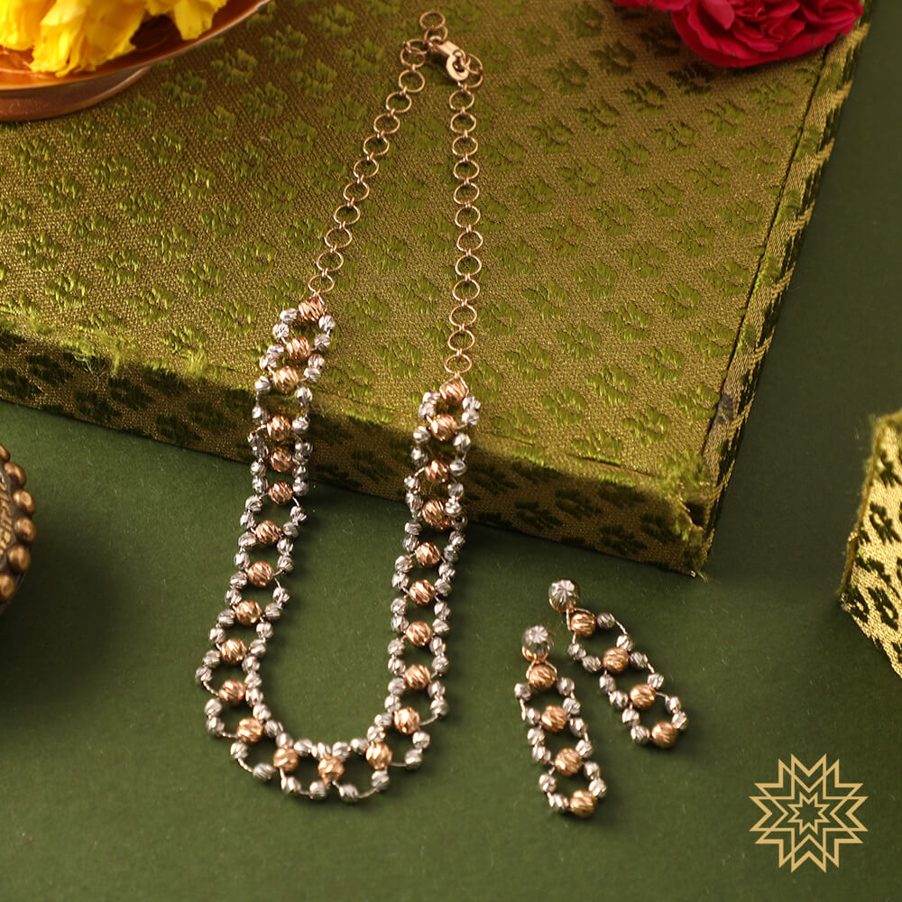 Manubhai Gold Set