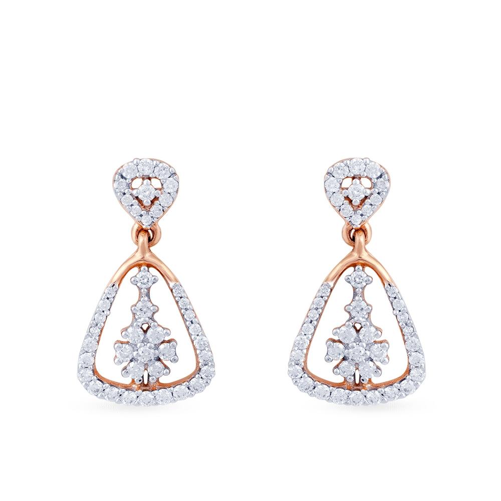 Raksha bandhan Diamond earrings