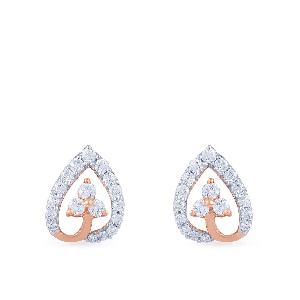 Manubhai Real Diamond Earrings