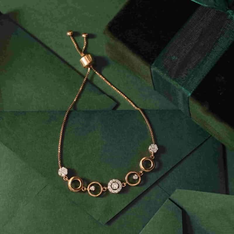 Diamond Bracelet by Manubhai Jewellers