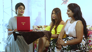 Ritcha styles her friends in Manubhai Jewellers PINK - Rose Gold Jewellery Collection